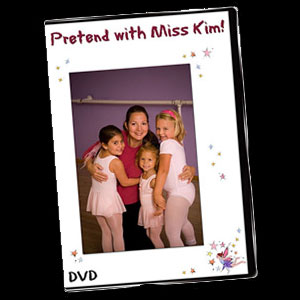 Pretend with Miss Kim Creative Movement DVD