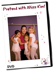Pretend with Miss Kim! Creative Movement DVD